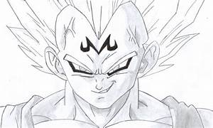 Majin Vegeta by Wolvesghost16 on DeviantArt