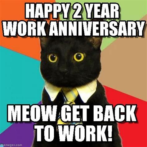 Anniversary Memes - anniversary meme happy 2 year work anniversary on memegen