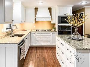 Kitchen, Cabinets, In, Sherwin, Williams, Dover, White