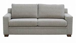 Luca fabric queen sofa bed sofa beds living room furniture for Sofa couch harvey norman