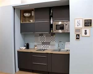 les 25 meilleures idees concernant cuisine compacte sur With delightful meuble cuisine petit espace 5 idee petite cuisine ouverte sur salon cuisine en image