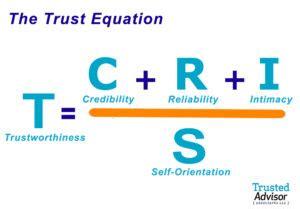 understanding  trust equation trusted advisor