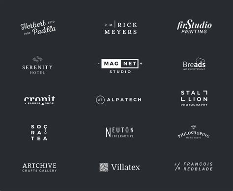 Free Logo Templates by 100 Free Logo Templates To Speed Up Your Logo Design Process