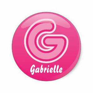 letter g stickers zazzlecomau With pink letter stickers