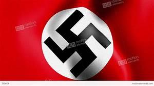 10675 Waving Swastika Nazi Flag Stock Animation   790614