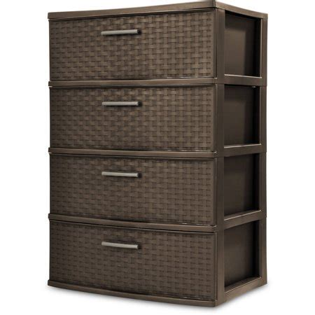 sterilite 5 drawer wide tower white sterilite 4 drawer wide weave tower espresso onsales41