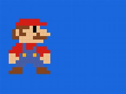 Mario Pixel Perfect Dribbble Animation Square Masha
