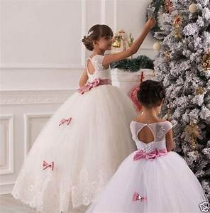 details sur 2 14 robes de fille robe enfant robe filles With robe de princesse petite fille
