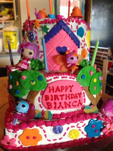 Lalaloopsy Cake Gingerbread house Gingerbread Cake