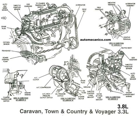 Dodge Caravan 3 3 Engine Diagram by Chrysler Dodge Jeep Sensores Light Trucks Vans 1991 2002