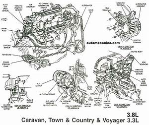 5 Best Images Of Dodge Caravan 3 3 Engine Diagram