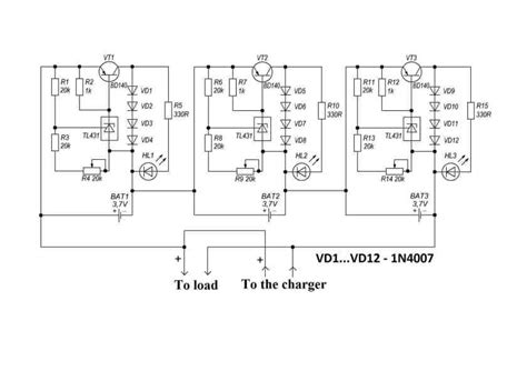 Make Bms For Lithium Ion Batteries Charging Electronics