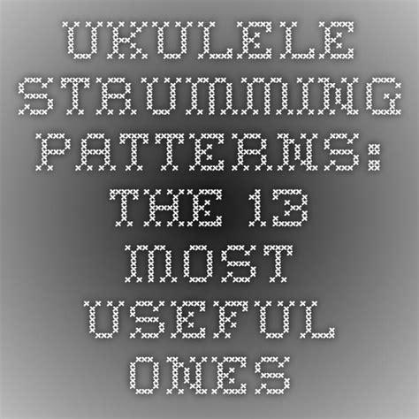 Ukutabs is your true source to find chords and tabs for all of your favorite songs. Ukulele Strumming Patterns: The 13 Most Useful Ones | Ukulele lesson, Ukulele, Ukulele music