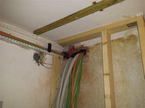 An Decke Verlegen by Elektroinstallation Im Eg Und K 252 Chenfu 223 Boden Hof Isem
