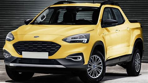 Ford Courier 2020 by Ford Focus Based Rumor Fueled By Courier Trademark