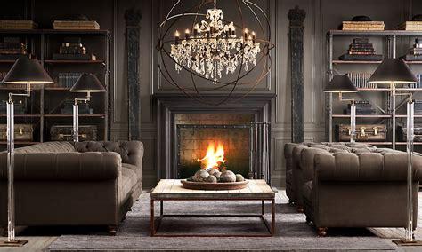 Restoration Hardware For Period Antique Furniture Steunk Living Room Ideas