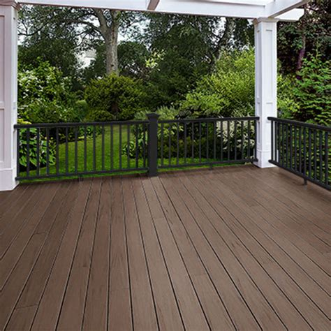 a zek lumber at lowes arbor collection decking by azek the deck store