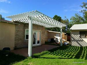 Free Standing Patio Cover Footings - Modern Patio & Outdoor