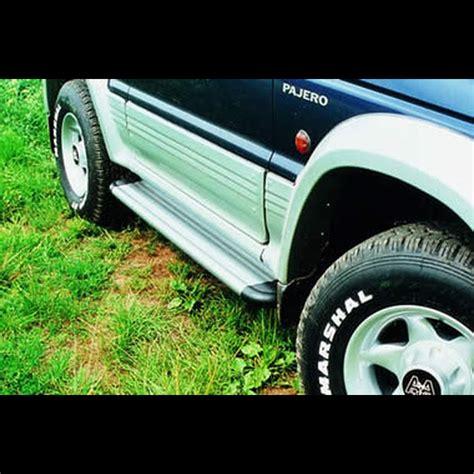 pedane pajero pajero 1991 1997 pedana alluminio 2 porte s50