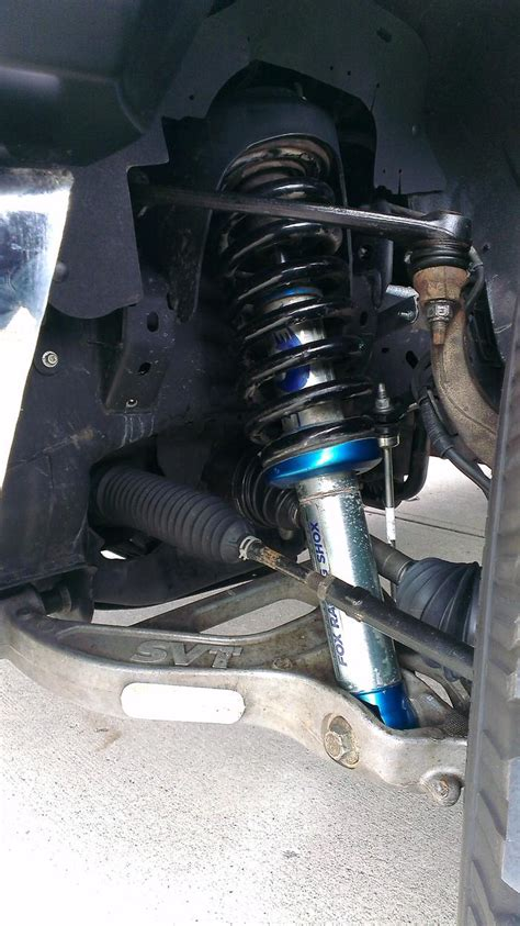 raptor suspension swap ford  forum