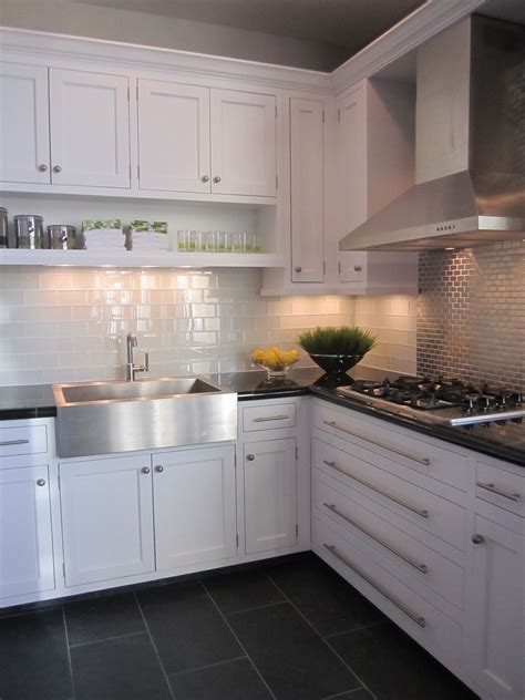 tiles in kitchens kitchen white cabinet grey floor tiles house 2807