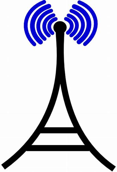 Tower Broadcasting Clipart Clip Clker