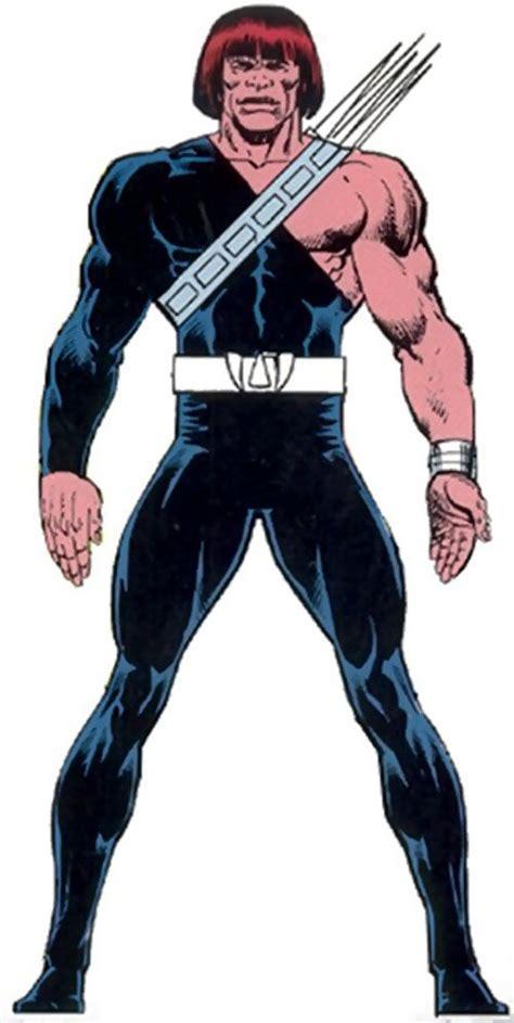 Harpoon - Marvel Comics - X-Men enemy - Marauders ...