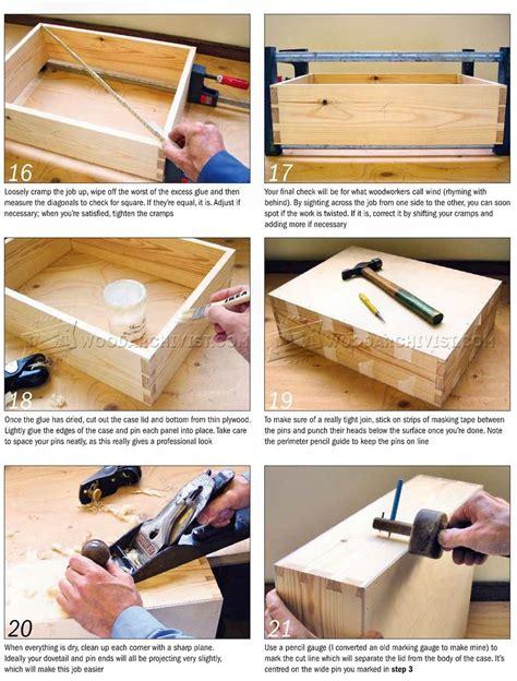 wooden attache case plans woodarchivist