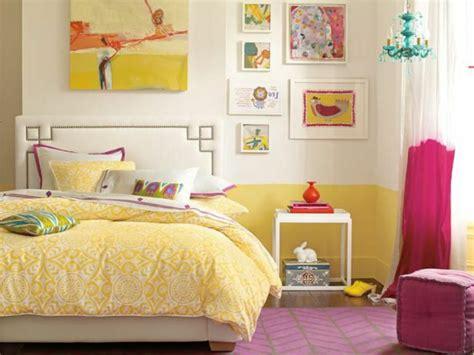 chambre fille jaune 44 idées pour la chambre de fille ado