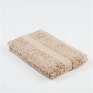 Grande Serviette De Bain : serviette de bain sens couleurs claires 500 g m standard textile ~ Teatrodelosmanantiales.com Idées de Décoration