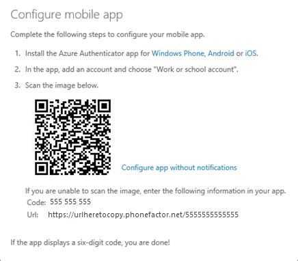 Office 365 Qr Code by Use Microsoft Authenticator With Office 365 Office 365
