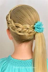 Coiffure Petite Fille Facile : tresses faciles pour petite fille coiffure simple et facile ~ Dallasstarsshop.com Idées de Décoration
