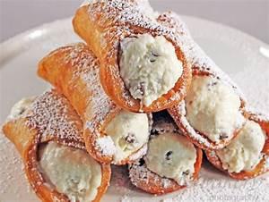 Cannoli Recipe Gretchen39s Bakery