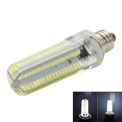 e11 7w dimmable led corn bulb cold white light 840lm smd