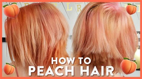 Pretty In Peach (and Pink) Hair Color Tutorial