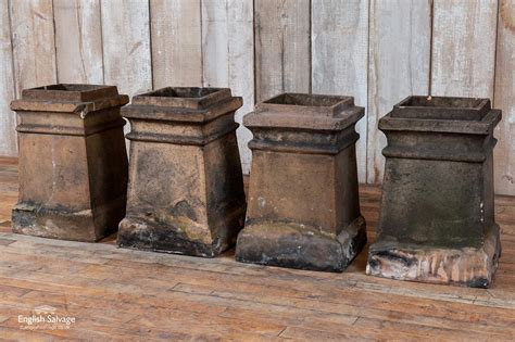 reclaimed georgian chimney pots
