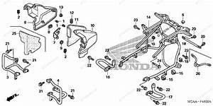 Honda Motorcycle 2006 Oem Parts Diagram For Engine Guard