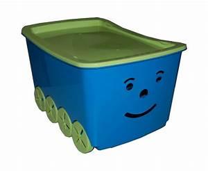 Caisse De Rangement Jouet : caisse jouets smiley jouet boite de rangement ebay ~ Teatrodelosmanantiales.com Idées de Décoration