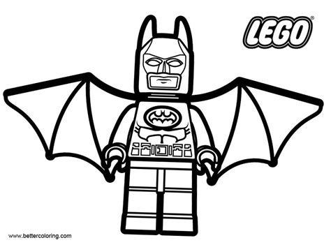 Lego Marvel Coloring Pages by Marvel Batman From Lego Coloring Pages Free