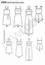 Jumpsuit Easy Dresses Romper Drawing Pattern Sewing Dress Designs Sketches Patternreview Patterns Drawings Line Sketchbook Kleider Newlook Doodle Moda Tk sketch template