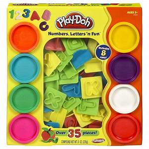 play doh numbers letters n fun toys games arts With play doh numbers letters n fun 35 pieces