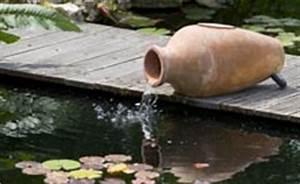 Fontaine Pour Bassin A Poisson : d coration bassin conseils et am nagement bassin jardinerie truffaut ~ Voncanada.com Idées de Décoration