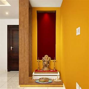 Trendy Color Ideas for Pooja Room in Indian Homes - DesignWud