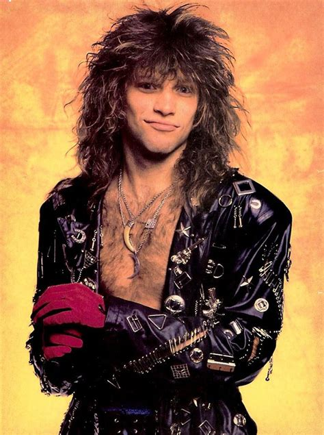 Jon Bon Jovi Really Loved Wearing Ridiculous Outfits