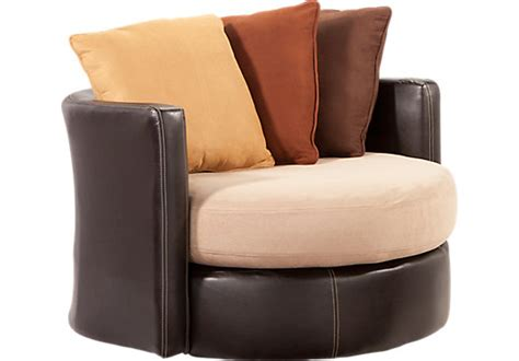 449 99 suttons bay beige swivel chair contemporary