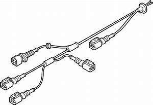 2012 Audi Wire Harness With Rpm Sensor And