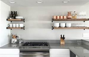 open your life to open shelving hampton harlow With deco cuisine etagere
