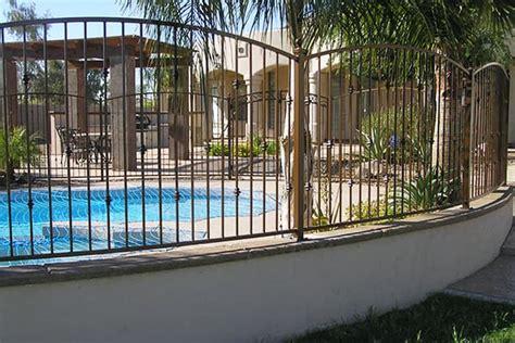 Decorative Wrought Iron Pool Fencing Phoenix