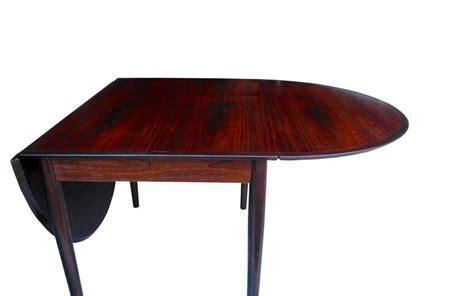 danish modern drop leaf table danish modern drop leaf solid rosewood dining table by