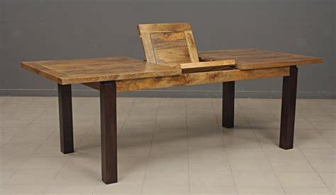 table cuisine rectangulaire table en bois rectangulaire avec allonge table de lit a